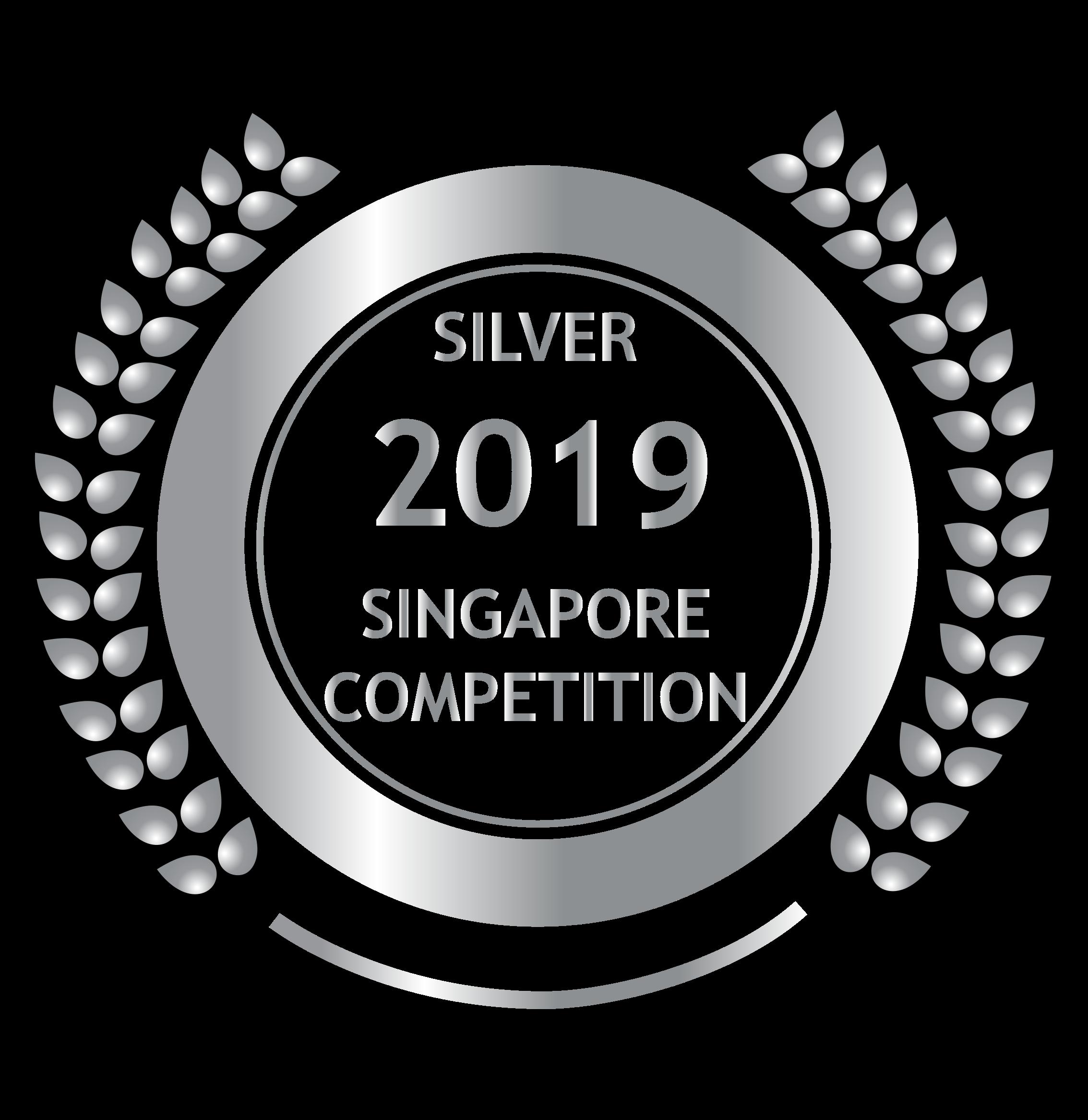 Silver Medal Singapore Awards 2019